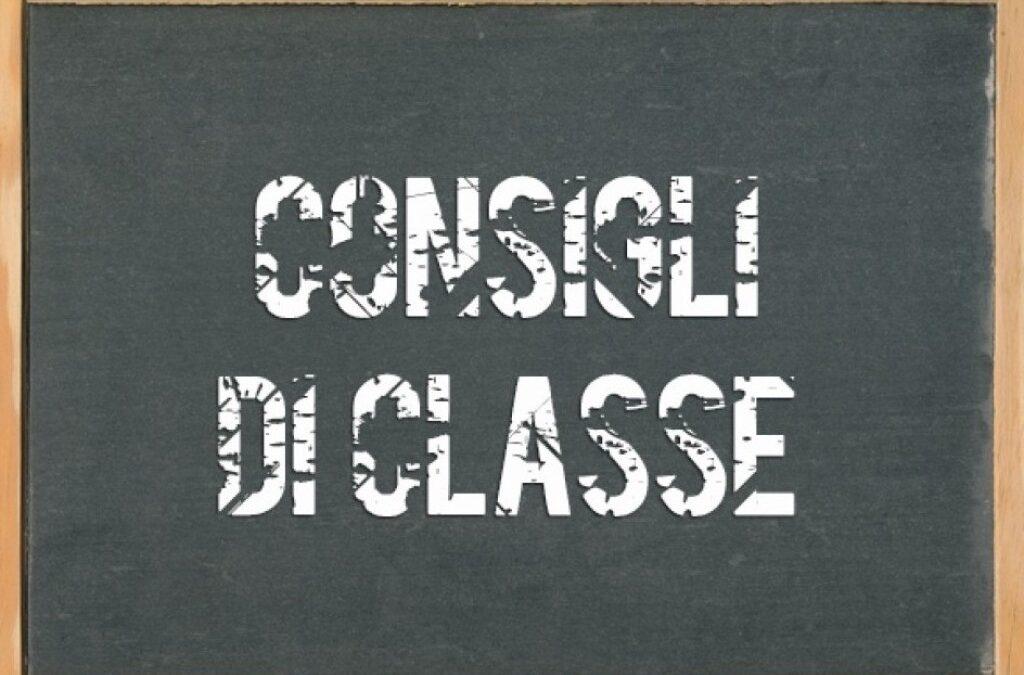 CONVOCAZIONE DEI CONSIGLI DI CLASSE
