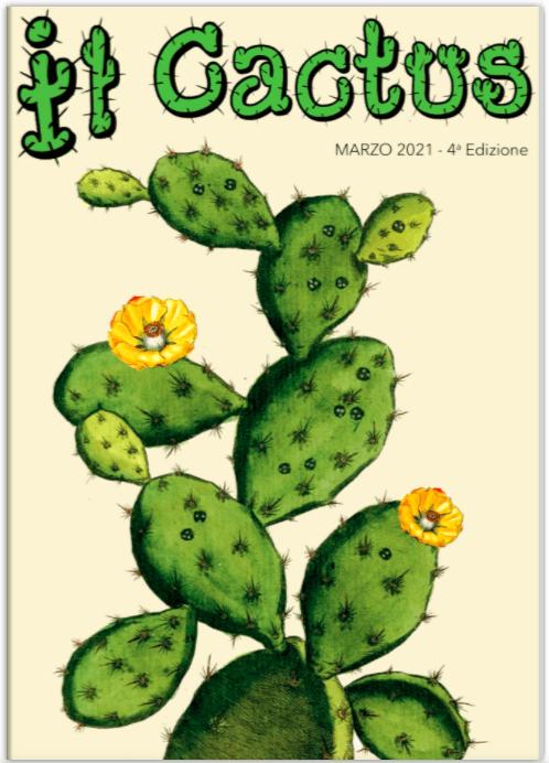 E' finalmente online la versione sfogliatile della quarta edizione della nostra rivista 'Il Cactus'