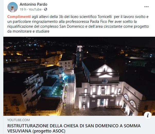 RISTRUTTURAZIONE DELLA CHIESA DI SAN DOMENICO A SOMMA VESUVIANA (progetto ASOC)